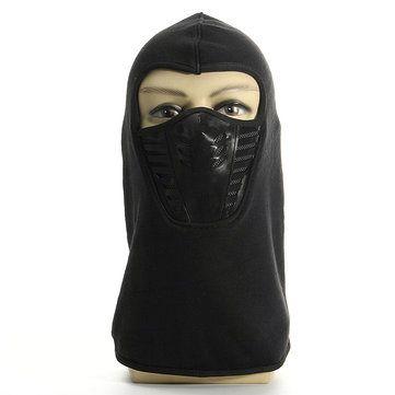 Full Face Mask Thermal Fleece Balaclava Neck Warmer Winter Ski Cap Cover Hat