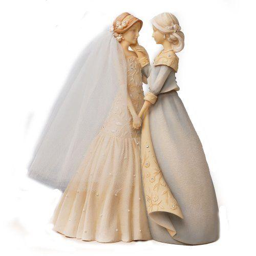 Enesco Foundations Mother And Bride Figurine 9 Inch Precious
