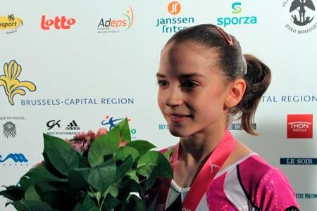 Gimnastică – Junioarele au ocupat locul 3 în triunghiularul Germania-România-SUA