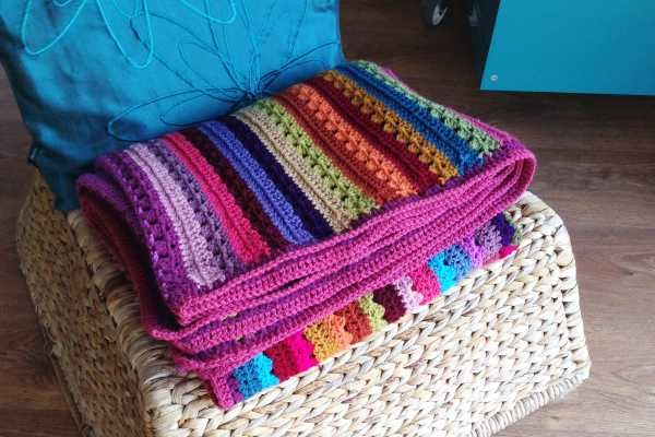 It is possible to block crochet items made of acrylic - using steam - here's how I did a whole blanket!