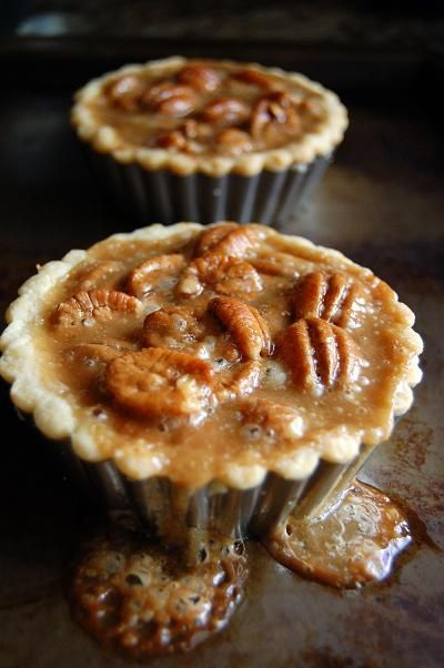 Pecan Caramel Tart... cant you just taste it?