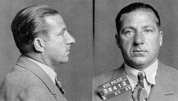 Frank Costello, mafia boss, 1935