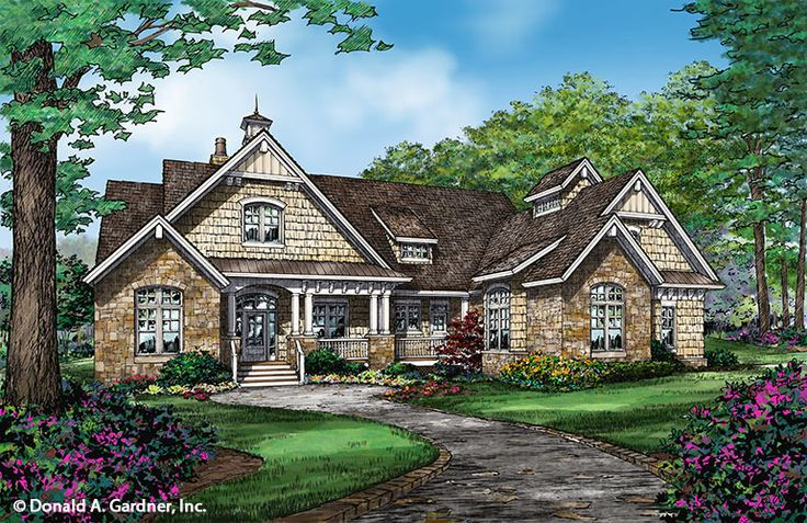 Plan of the week over 2500 sq ft the austin plan 1409 for 2500 sq ft log home plans