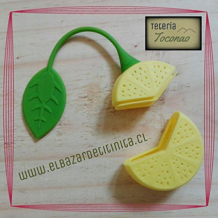 Infusor limón. Encuéntralo en www.elbazardetitinita.cl ♡♥♡