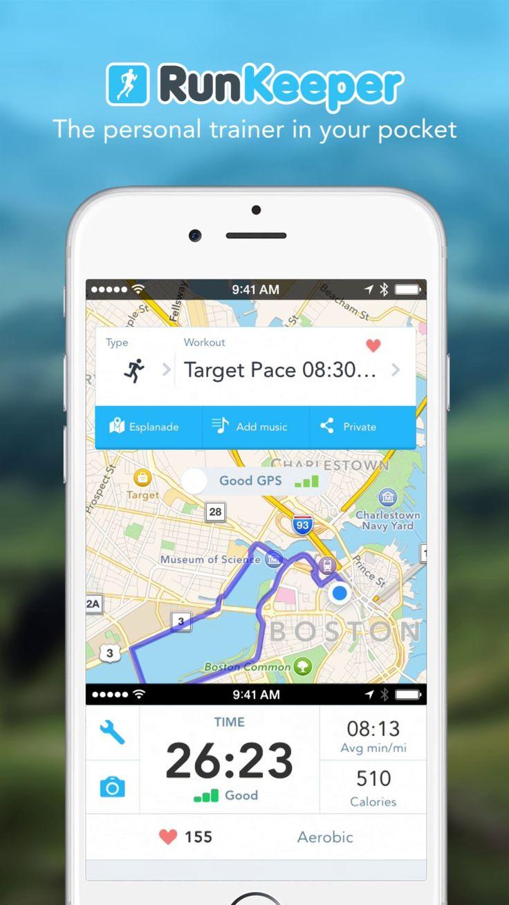 RunKeeper - App Preview