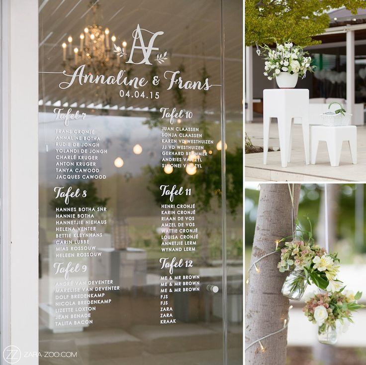 Frans & Anneline's Wedding 2015  Lourensford | Somerset West  Photos: ZaraZoo  Coordinator: Kraak Events