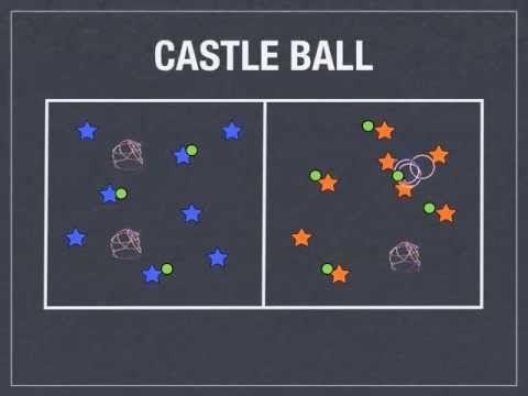 Throwing/Cooperative/Teamwork - Castleball 4-8