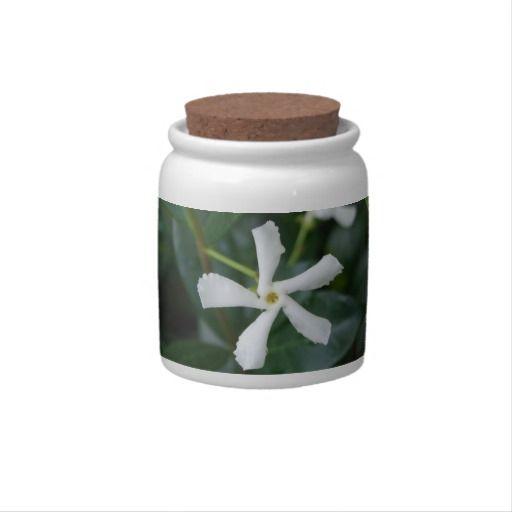 Star Jasmine Candy Jar