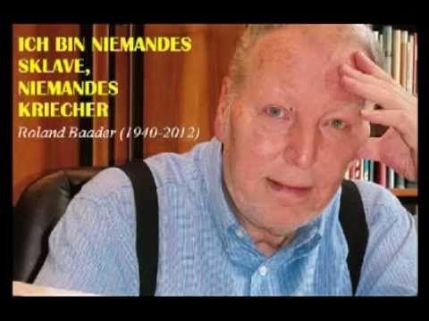 """Roland Baader : """"Ich bin niemandes Sklave"""""""