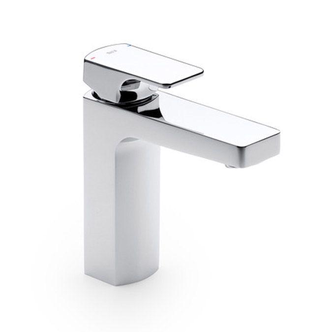 Roca L90 Grifo de lavabo con traga cadenilla y desagüe clic-clac  http://www.edenhogar.com/en/single-lever-basin-mixers/roca-l90-smooth-body-basin-mixer-with-click-clack-pop-up-waste-5a3901c00.html