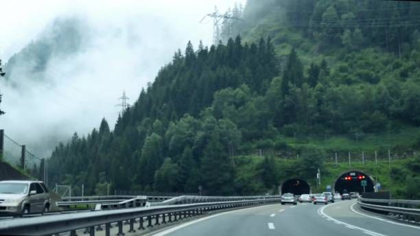 fast driving in st gotthard tunnel 2016 year