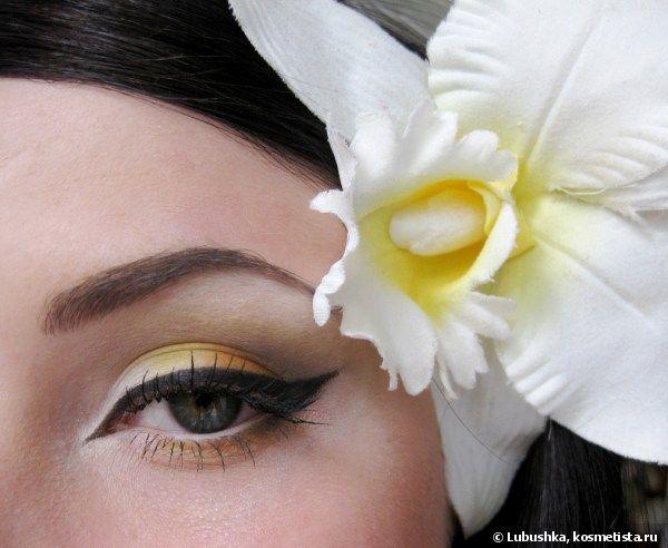 "Макияж ""Тропический цветок"""