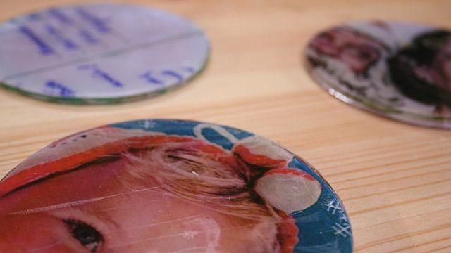 magneten en onderzetters maken met kunsthars