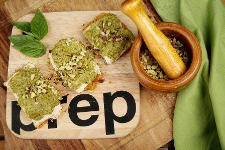 Vegan (ωμοφαγική) τάρτα με σπιτική σάλτσα πέστο, συνταγές για χορτοφάγους χωρίς γλουτένη