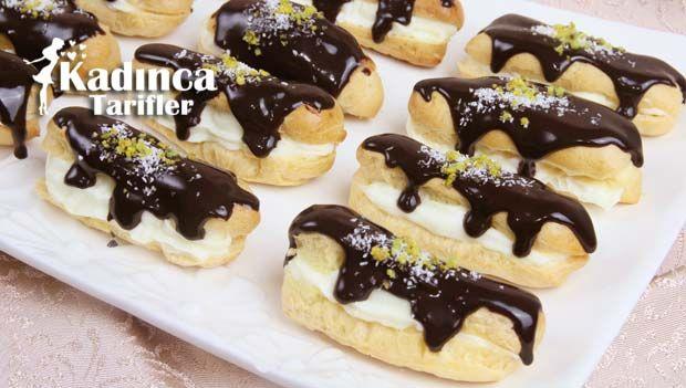 Ekler Pasta Tarifi nasıl yapılır? Ekler Pasta Tarifi'nin malzemeleri, resimli anlatımı ve yapılışı için tıklayın. Yazar: AyseTuzak