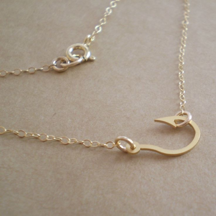 1000 images about fish hooks on pinterest mini heart for Fish hook necklace