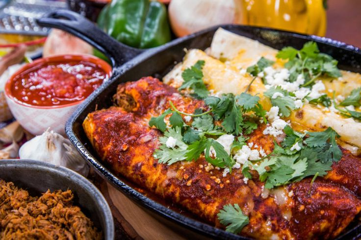 Chicken and Beef Enchiladas from Firefighter Daniel Ferrari | Home & Family | Hallmark Channel http://www.hallmarkchannel.com/home-and-family/recipes/chicken-and-beef-enchiladas-from-firefighter-daniel-ferrari