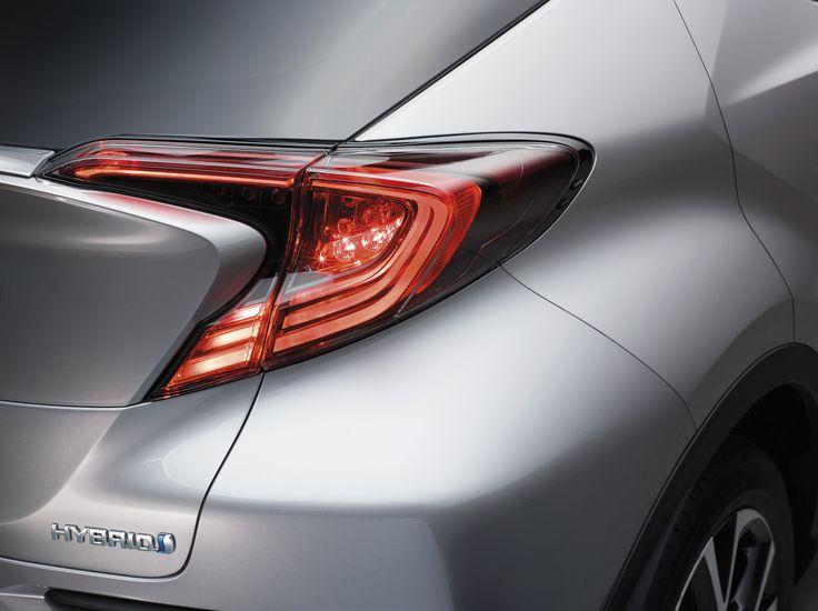 Toyota C-HR rear lights