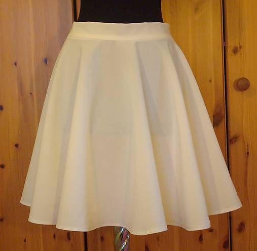 emmilly / Kruhová maslová sukňa