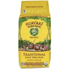Loose yerba mate from Guayaki is a mainstay in my kitchen. The same kick as coffee but with no afternoon crash, plus it's loaded with vitamins and minerals. Good stuff.