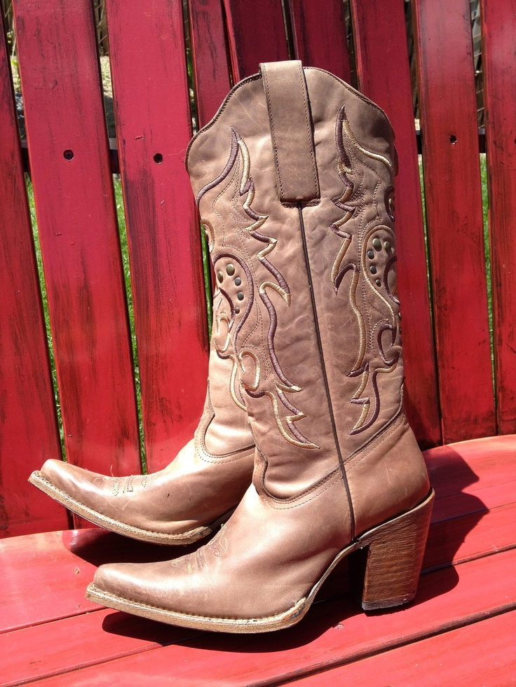 New Womens Corral Vintage Boots Bown Peace and Love Cowboy Western C2211 size 7 | eBay