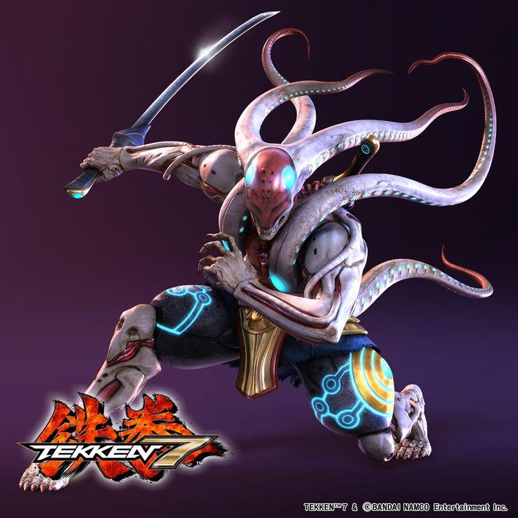 Yoshimitsu Unveiled for Tekken 7  (Cyber Ninja)