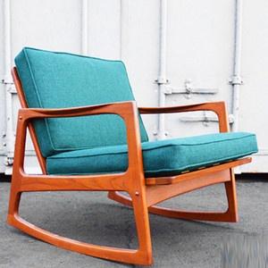 Danish Modern Teak Rocking Chair It'd be mine if it I were made of money.