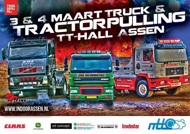 Truck & Tractorpulling Indoor Assen 2017
