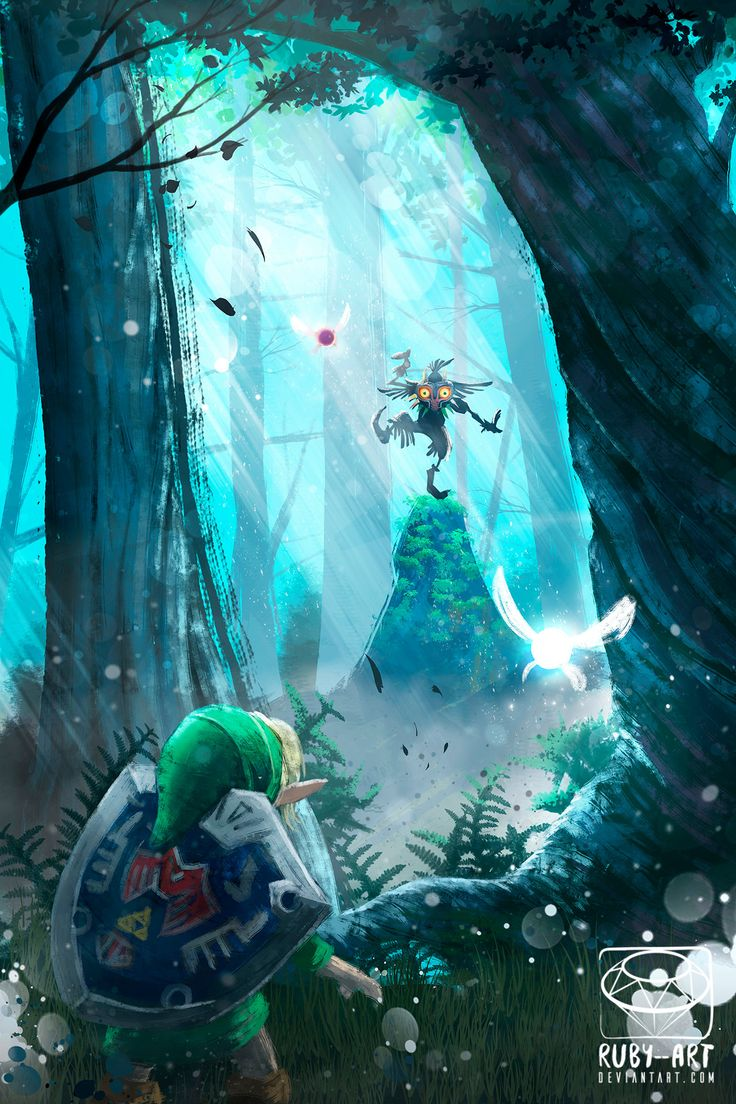 Majora's Mask - Zelda Fanart by Ruby--Art