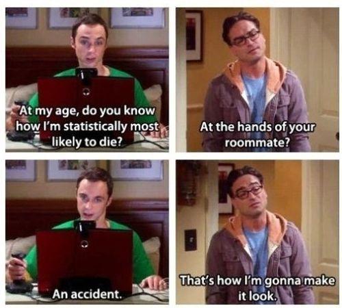 I love Sheldon and Leonard!