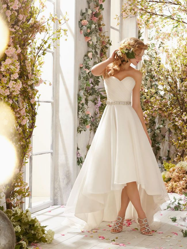 17 Best Images About Short Wedding Dresses On Pinterest