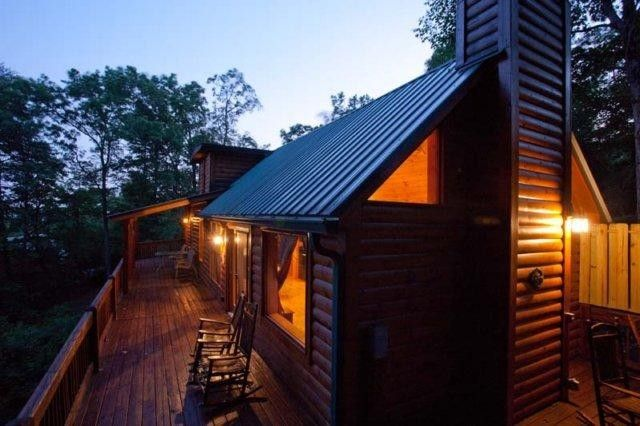 Ellijay vacation rental vrbo 982669ha 1 br northwest for Ellijay cabins for rent by owner