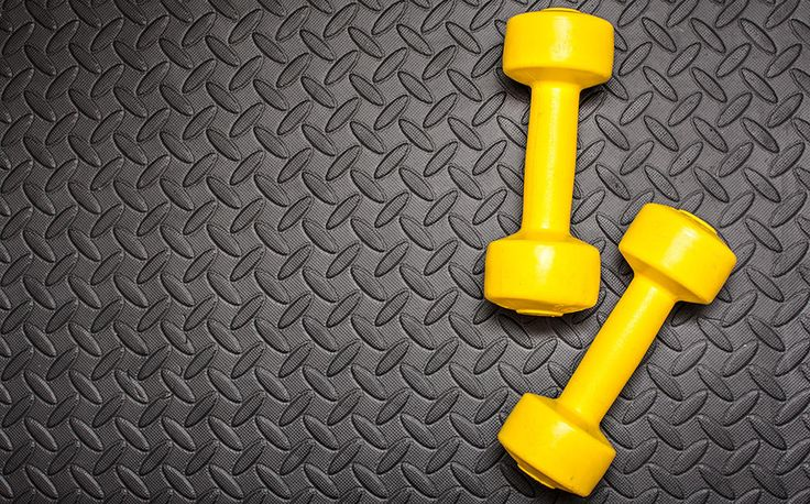 Tone your entire body in half an hour with this no-joke dumbbell workout.