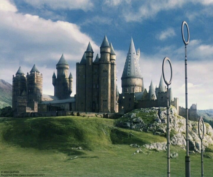 Hogwarts And The Quidditch Pitch