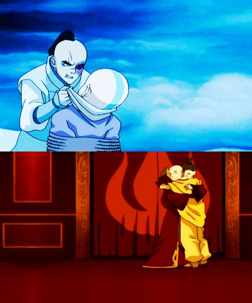 """""""Zuko: I can't believe a year ago my purpose in life was hunting you down. And now-Aang: And now we're friends.Zuko: Yeah. We are friends.Aang: I can't believe a year ago I was still frozen in a block of ice. The world's so different now.Zuko: And it's gonna be even more different. We'll rebuild it together."""" Chills"""