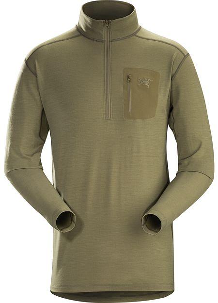 Cold WX Zip Neck AR Wool Lightweight Shirt