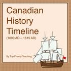 Calling all Canadian Teachers (especially Grade 5 Alberta teachers)! This timeline activity is exactly what you need. {Paid Product}