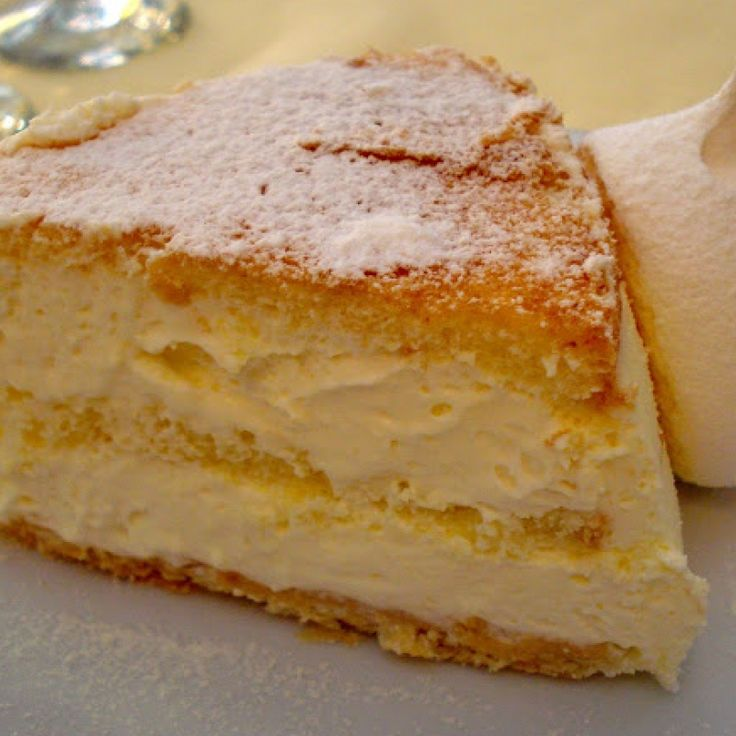 . Layered Torta Di Zabaglione Recipe from Grandmothers Kitchen.
