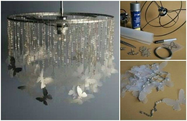 17 best images about l to dekorace a tvo en s d tmi on for Cool diy chandeliers