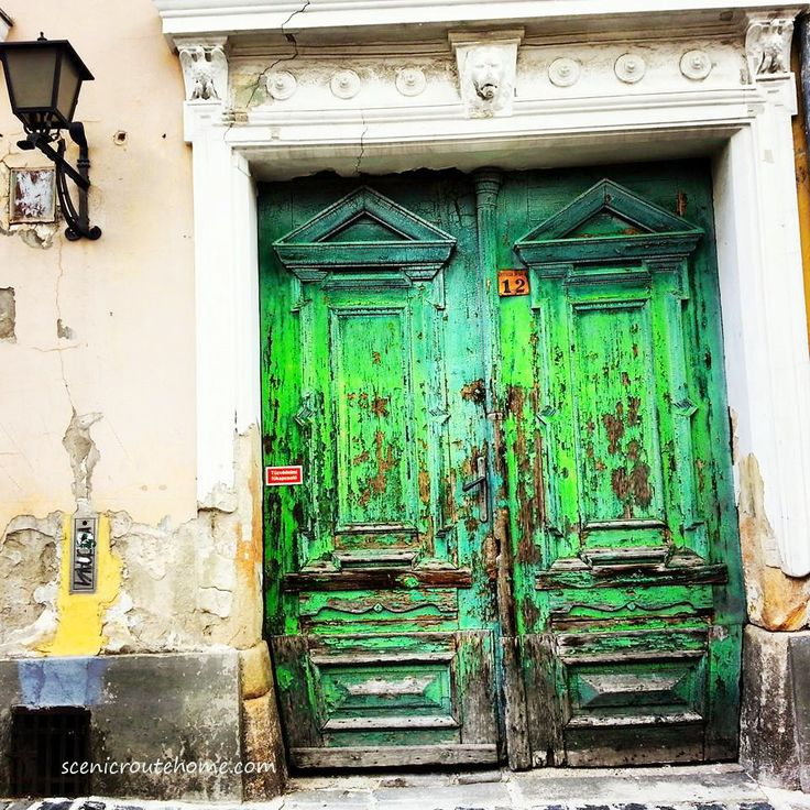 Photo of a door in Szentendre, Hungary by Scenic Route Home. Prints will be available soon at Innermoonlightdesigns.com
