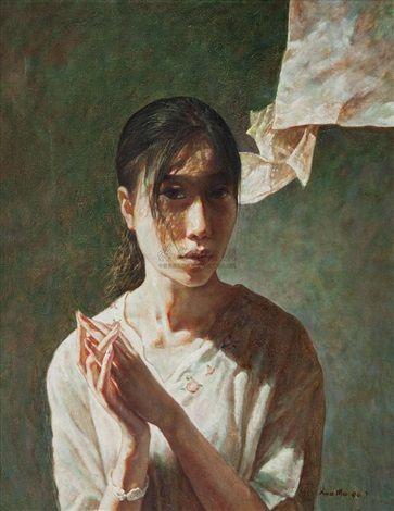 1994 Portrait by Xue Mo