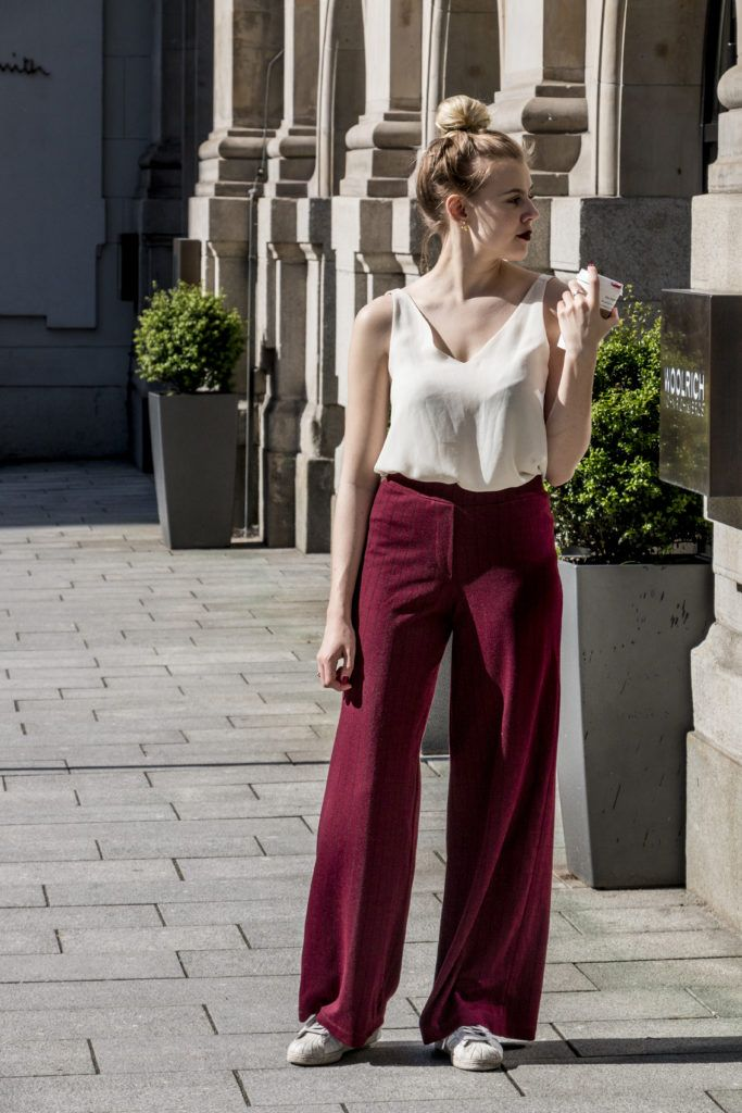 Outfit – Die Blogger Hose – The Pink Flamingo Diaries