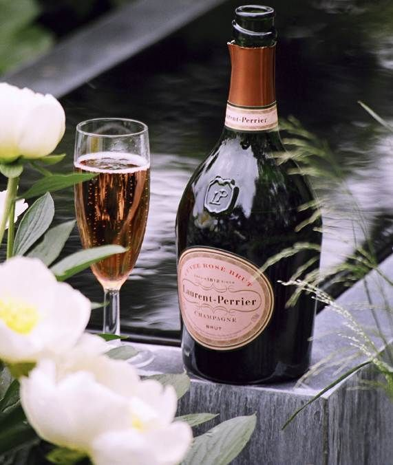 Laurent Perrier Rosé.  When I win the lottery I will celebrate with this!!!