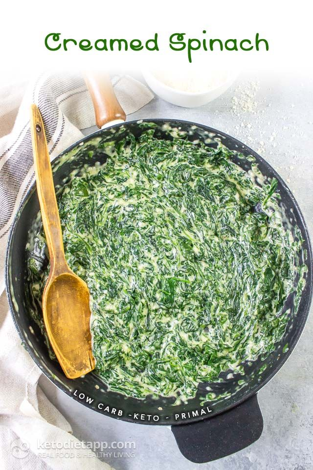 Low-Carb Creamed Spinach
