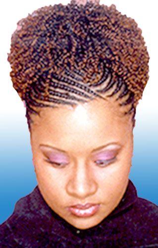 Invisible Cornrow Braids