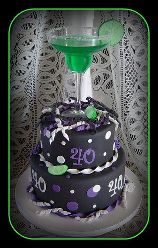 Surprise 40th Birthday Cake by It's All About the Cake, via Flickr