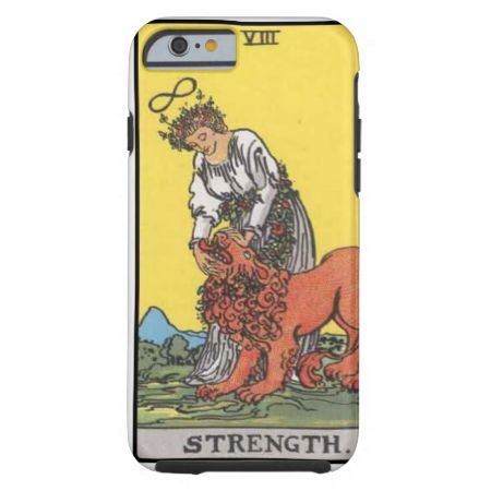 Tarot Strength Card tough iPhone 6 case available here: http://www.zazzle.com/image_of_tarot_strenght_card_tough_iphone_6_case-256691949171289583?rf=238080002099367221&tc= $56.95 #tarot #iphone