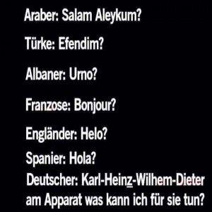 ....deutsche Erziehung eben