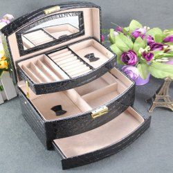 Cheap Jewelry Boxes, Wooden And Leather Jewelry Box For Women And Men At Wholesale Prices Sale