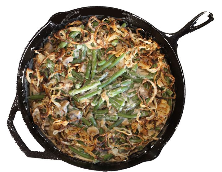 Alton Brown's Green Bean Casserole: My best-ever green bean casserole. I promise it's worth the effort. Use panko bread crumbs and you'll see a difference.